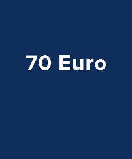 Bild von Wertgutschein 70 Euro